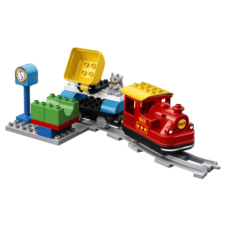 6a8c939ea4a Купить конструктор LEGO Duplo Town Поезд на паровой тяге 10874 LEGO, цены в  Москве на goods.ru