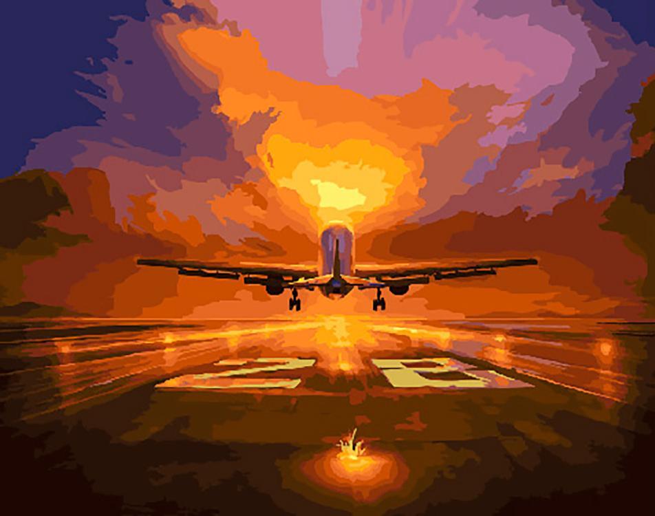 картинки с самолетами на взлетной полосе подыскать