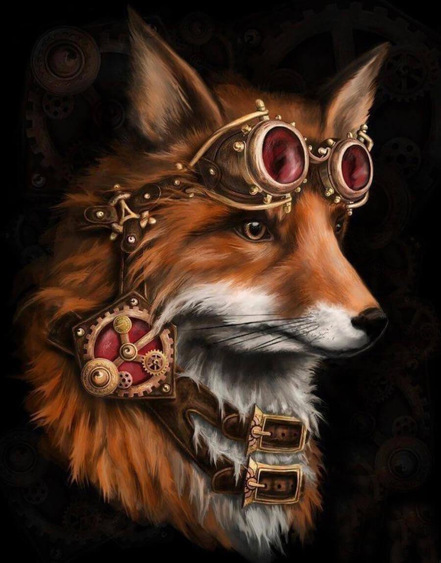 всей картинка лиса с короной силу своих