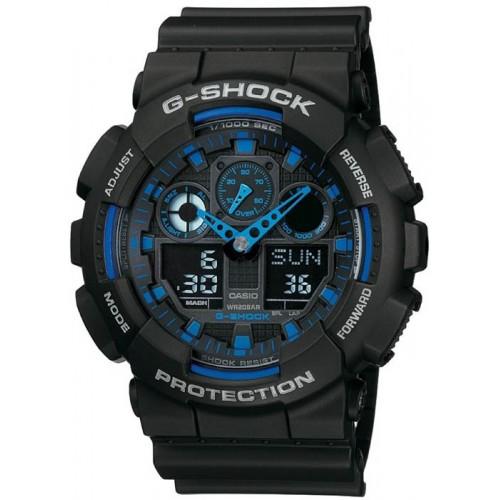 Спортивные наручные часы Casio G-Shock GA-100-1A2 купить, цены в Москве на goods.ru