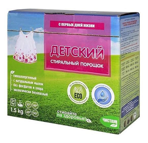 Купить стиральный порошок Чистаун Детский 1500 гр, цены в Москве на goods.ru