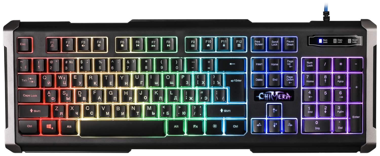 Игровая клавиатура Defender Chimera GK-280DL Black (45280), купить в Москве, цены в интернет-магазинах на goods.ru