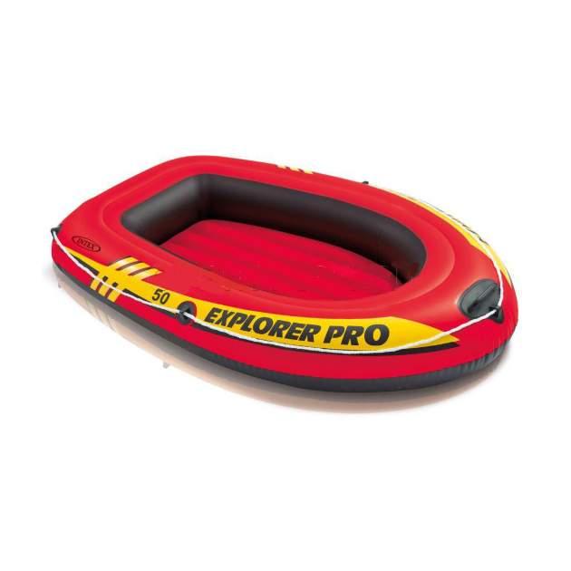 Лодка Intex Explorer Pro 50 1,37 x 0,85 м orange купить, цены в Москве на goods.ru