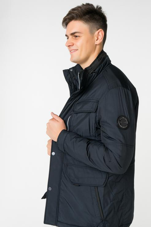 Купить куртка мужская Baon B538513 черная L, цены в Москве на goods.ru
