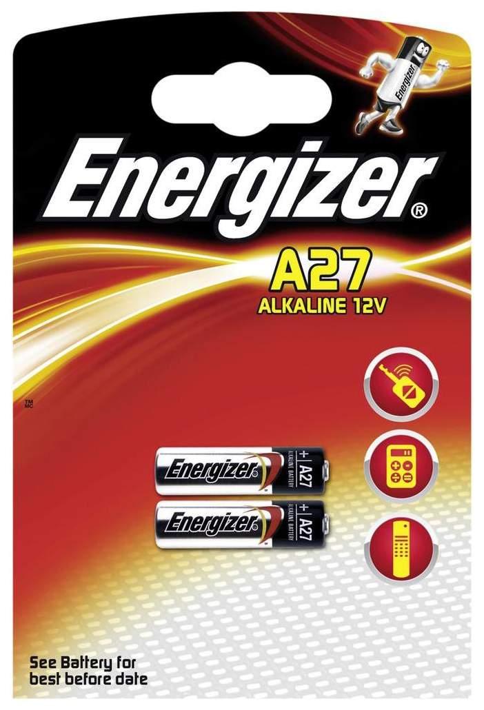 Батарейка Energizer A27 2 шт, купить в Москве, цены в интернет-магазинах на goods.ru