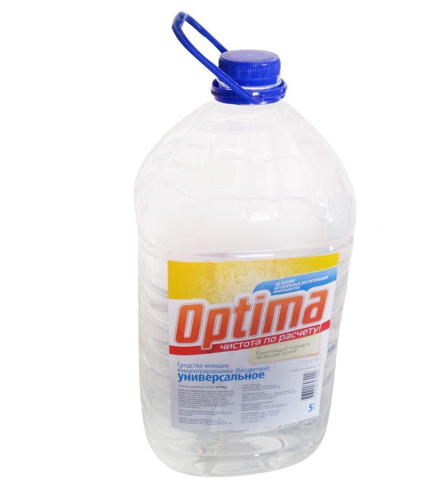 Универсальное моющее средство Оптима концентрированное 5 л купить, цены в Москве на goods.ru