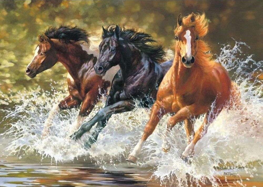 просроченной задолженности картинки с тремя лошадьми описание