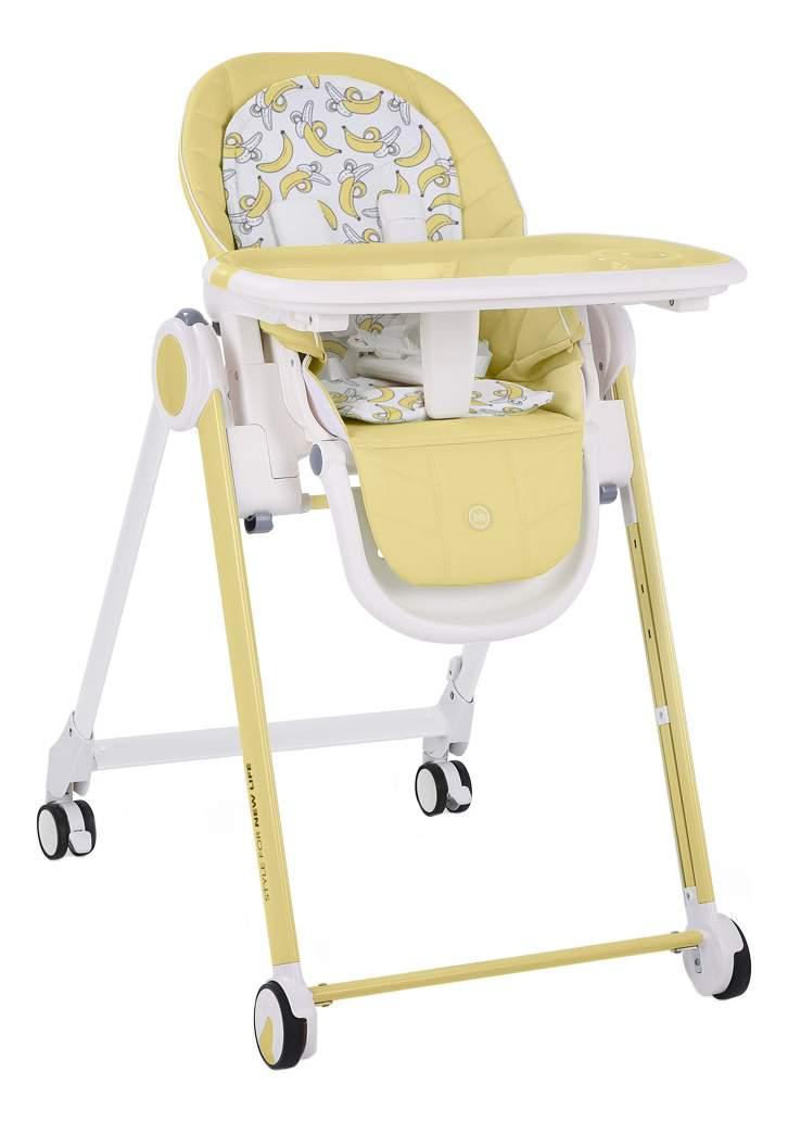 Купить стульчик для кормления Happy baby Berny YELLOW, цены в Москве на goods.ru
