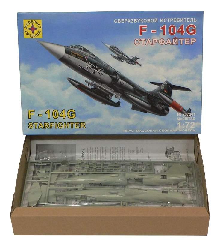 Купить модели для сборки Моделист Истребитель F-104G Старфайтер, цены в Москве на goods.ru