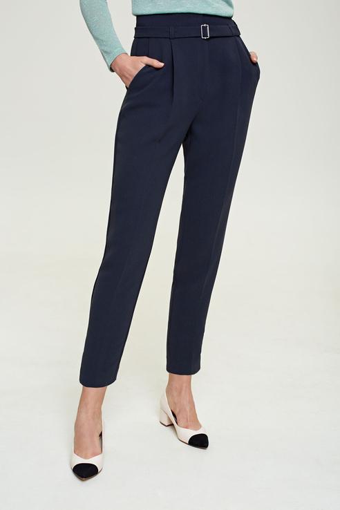 Купить брюки женские Concept Club 10200160405 синие M, цены в Москве на goods.ru