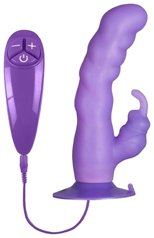 Анальная цепочка из 3-х фиолетовых шариков