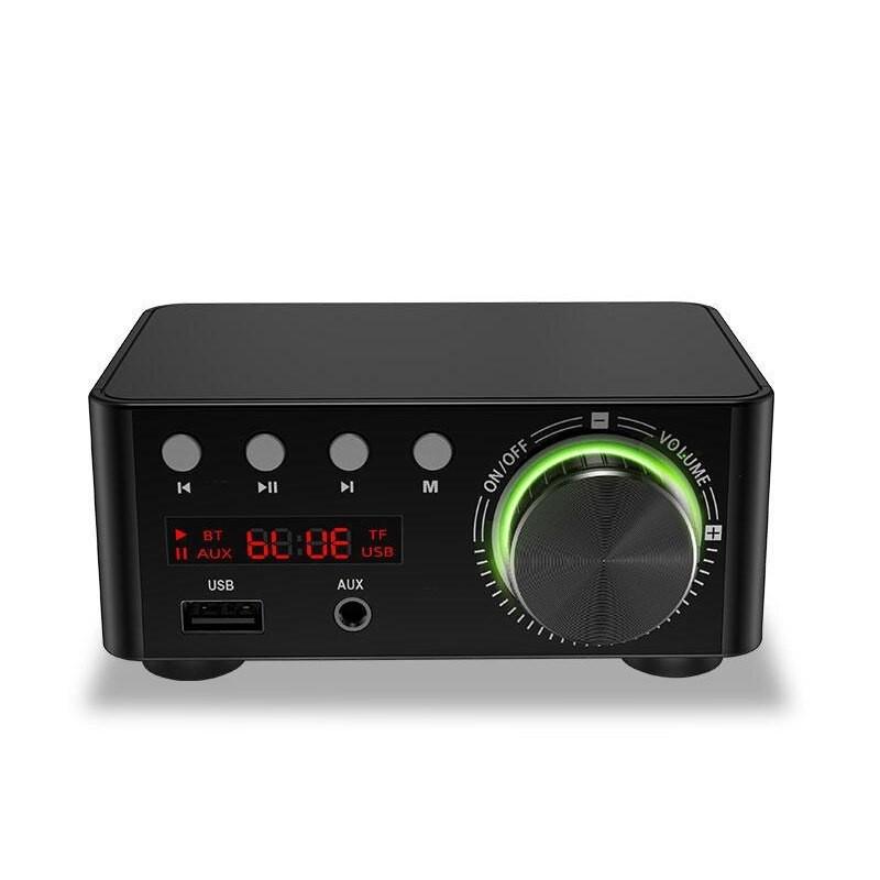 Усилитель мощности NoBrand 50WX2 Black, купить в Москве, цены в интернет-магазинах на sbermegamarket.ru
