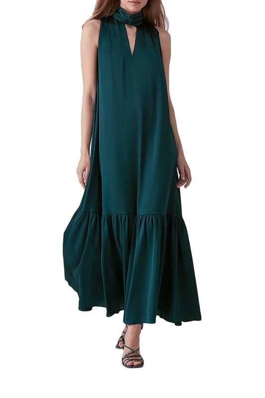 Платье-сарафан женское LOVE REPUBLIC 2562150516 зеленое 44
