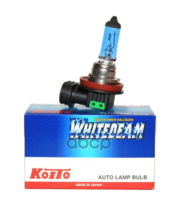 Купить лампа галогенная Koito H11 Whitebeam 4000K 12V 55W (100W), эффект ксенона 0750W, цены в Москве на goods.ru