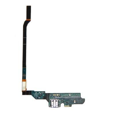 Шлейф для Samsung i9500 (Galaxy S4) плата на системный разъем и микрофон
