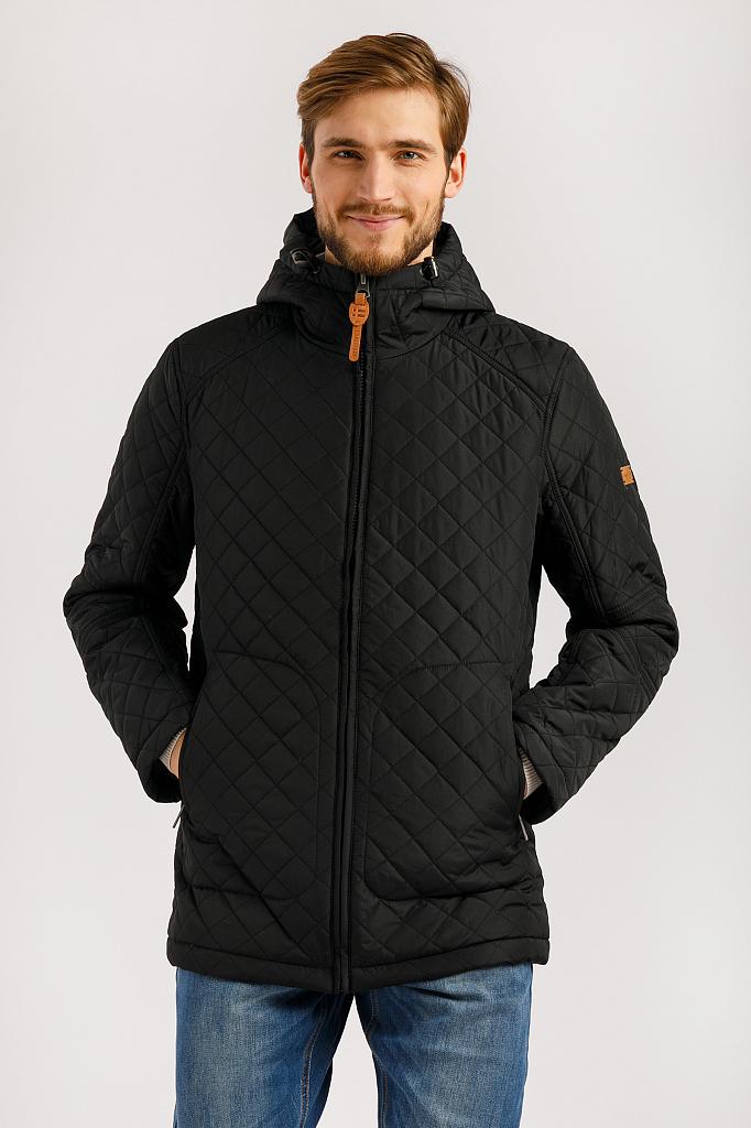 Купить куртка мужская Finn-Flare B20-22007 черная 2XL, цены в Москве на goods.ru