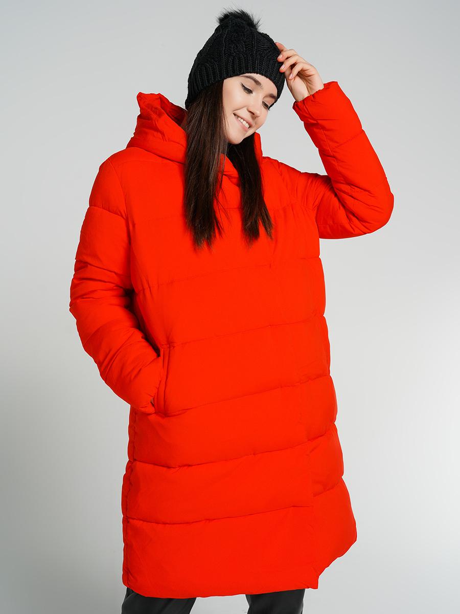 Пуховик-пальто женский ТВОЕ A6555 красный S, купить в Москве, цены в интернет-магазинах на goods.ru