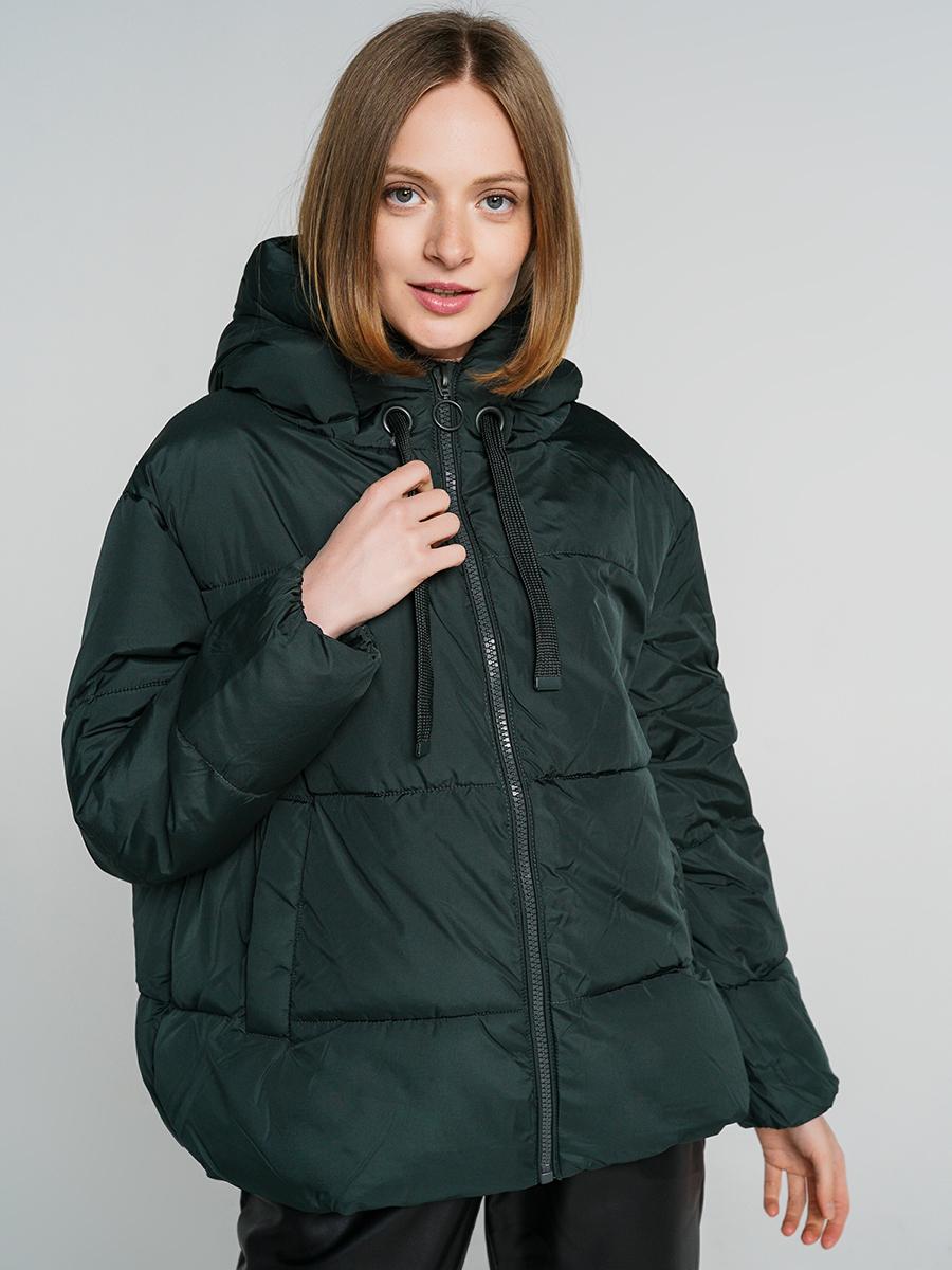Купить куртка женская ТВОЕ A6560 зеленая L, цены в Москве на goods.ru