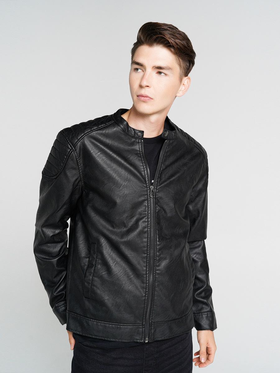 Купить куртка мужская ТВОЕ A6615 черная L, цены в Москве на goods.ru