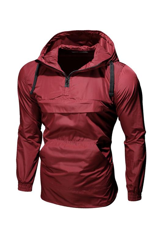 Купить ветровка мужская Envy Lab AK001 красная 2XL, цены в Москве на goods.ru