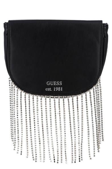 Поясная сумка женская Guess W0YZ59-WD4B0 черная, купить в Москве, цены в интернет-магазинах на goods.ru