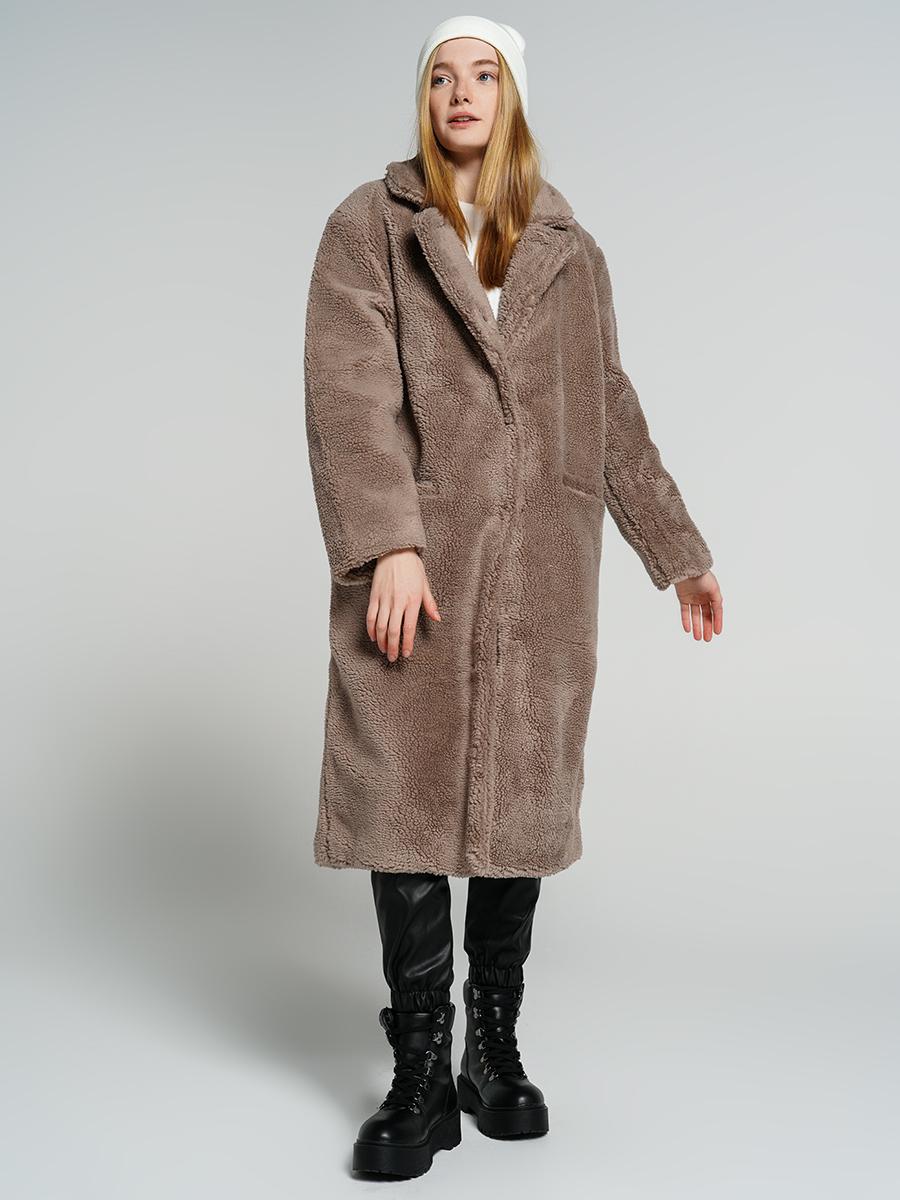 Шуба женская ТВОЕ A6672 коричневая L, купить в Москве, цены в интернет-магазинах на goods.ru