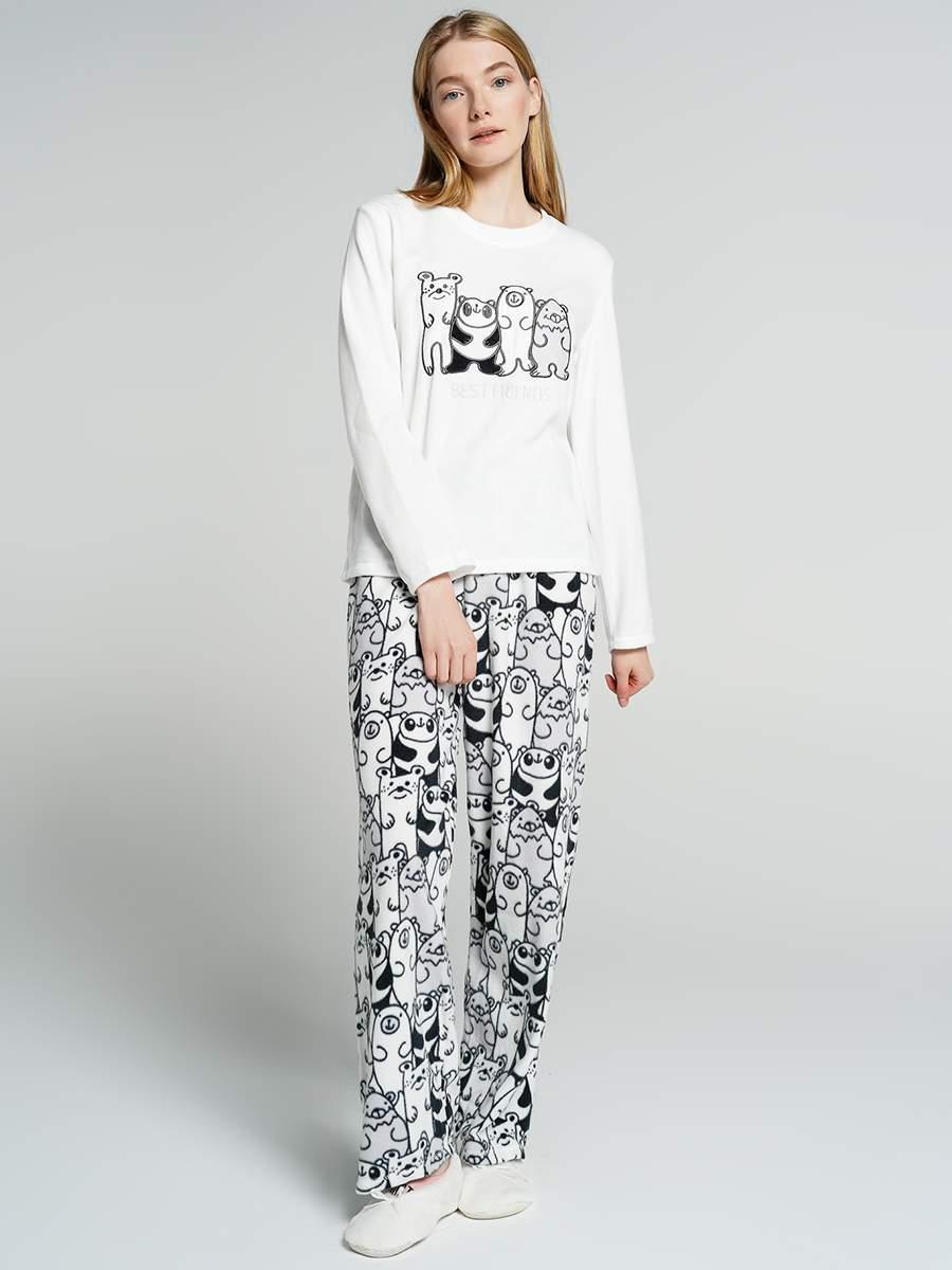Домашний костюм женский ТВОЕ A7029 белый XS, купить в Москве, цены в интернет-магазинах на goods.ru