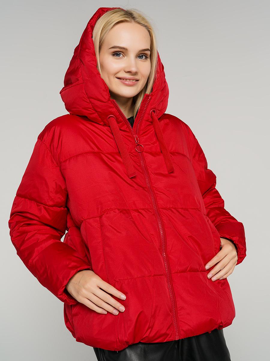 Купить куртка женская ТВОЕ A6560 красная XL, цены в Москве на goods.ru