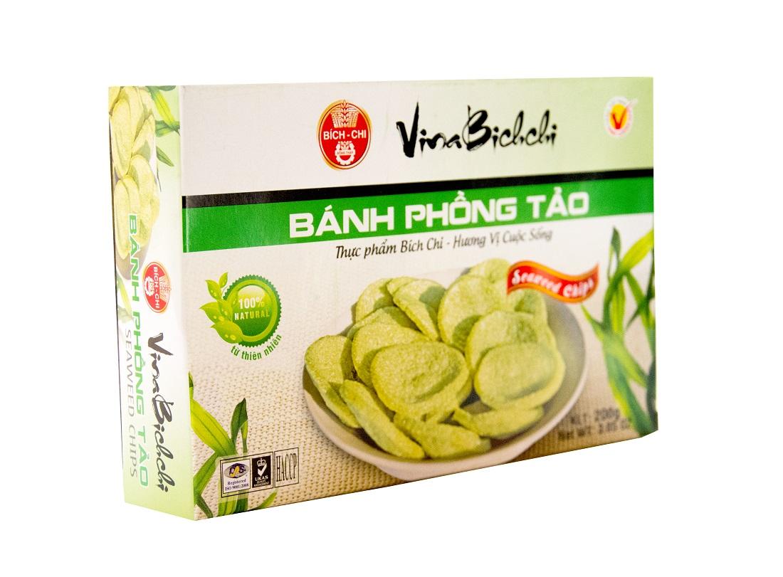 Чипсы Phong Tao Bich Chi из крахмала маниоки с порошком морской водоросли 200 г - Маркетплейс goods.ru