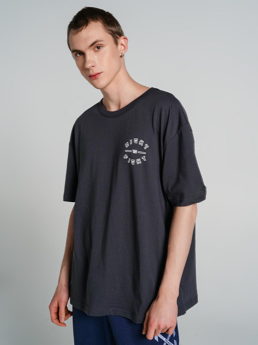 Купить футболка мужская ТВОЕ 73122 серая XL, цены в Москве на goods.ru