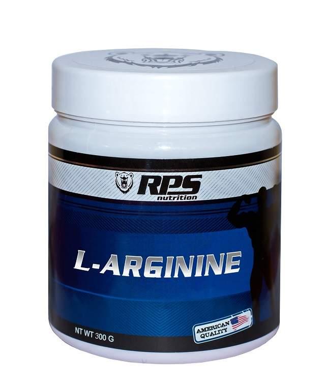 RPS Nutrition L-аргинин 300 г без вкуса - характеристики, техническое описание - маркетплейс goods
