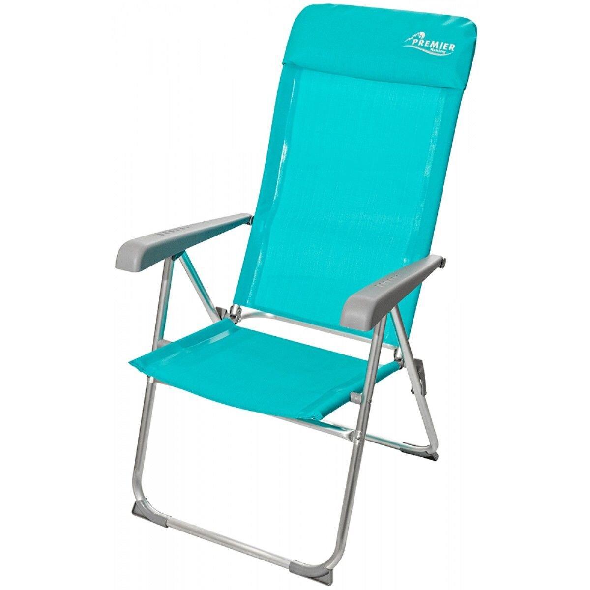 Кресло Premier Fishing PR-180B голубое купить, цены в Москве на goods.ru