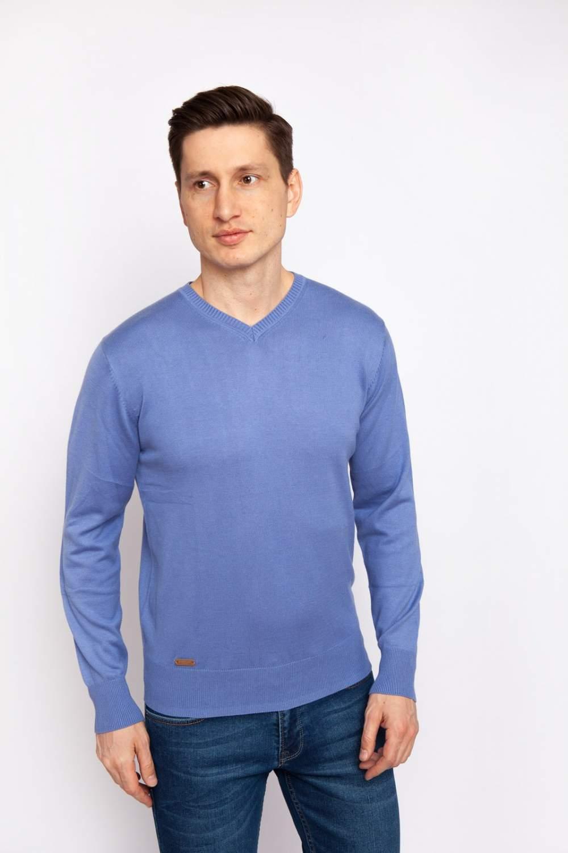 Купить джемпер мужской Kanzler 19S-VC05-F/92 синий S, цены в Москве на goods.ru