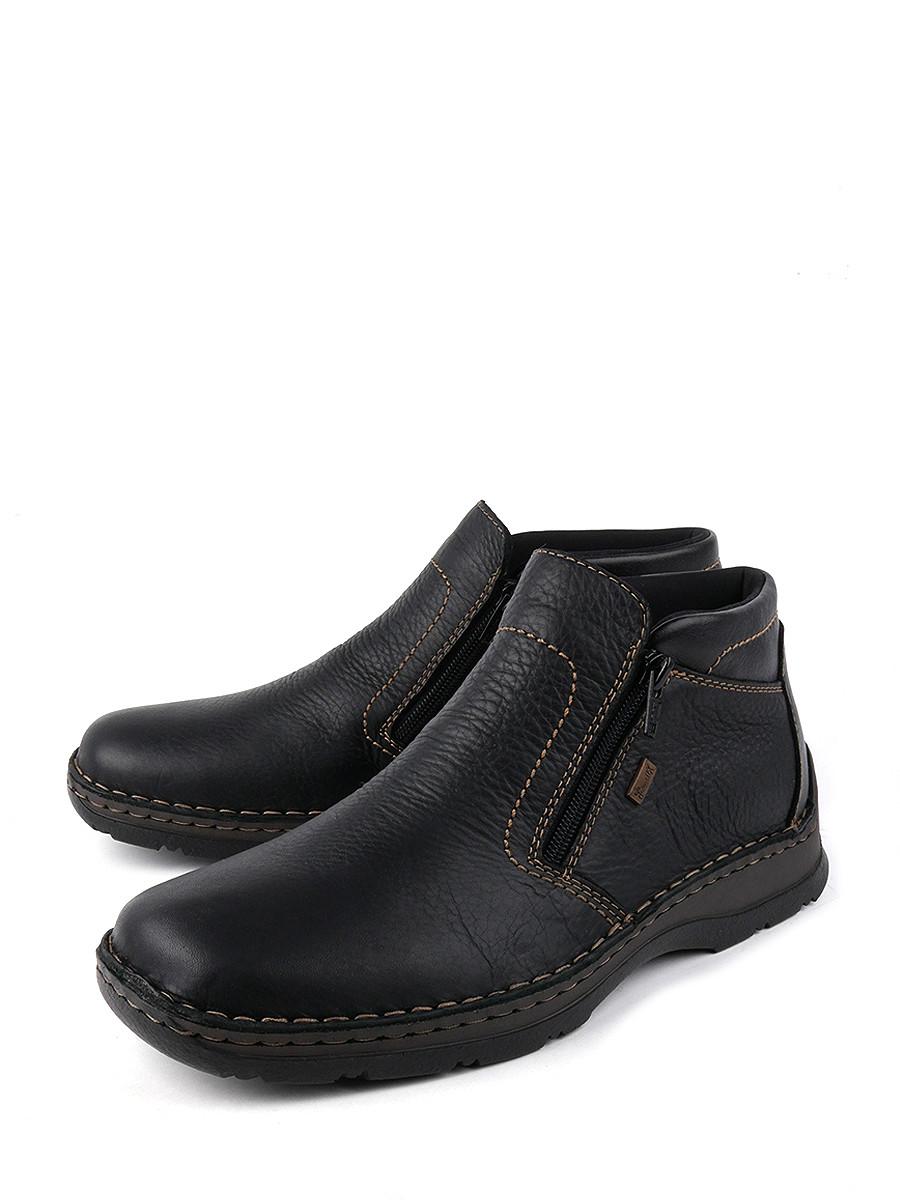 Купить ботинки мужские Rieker 05373-00-19 черные 40 RU, цены в Москве на goods.ru