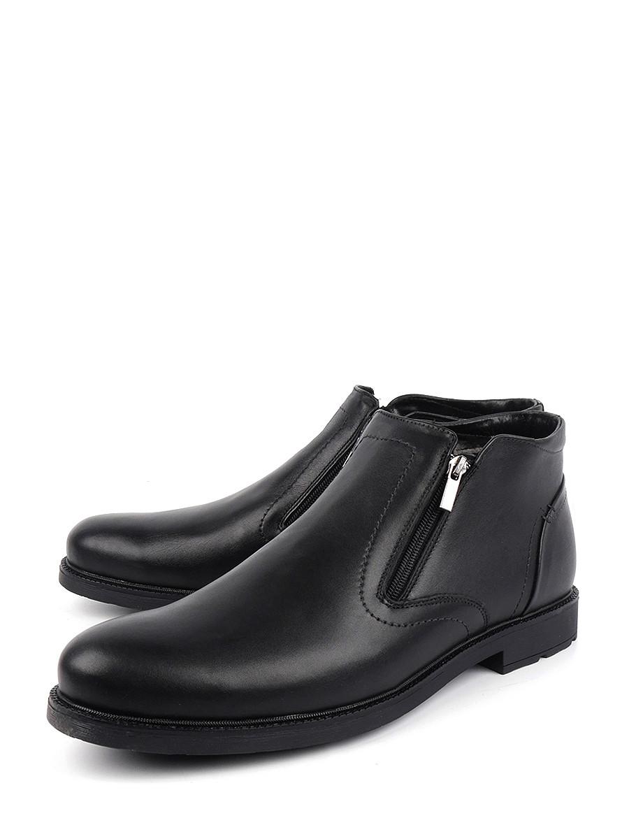 Купить ботинки мужские Longfield 008.45980 черные 48 RU, цены в Москве на goods.ru