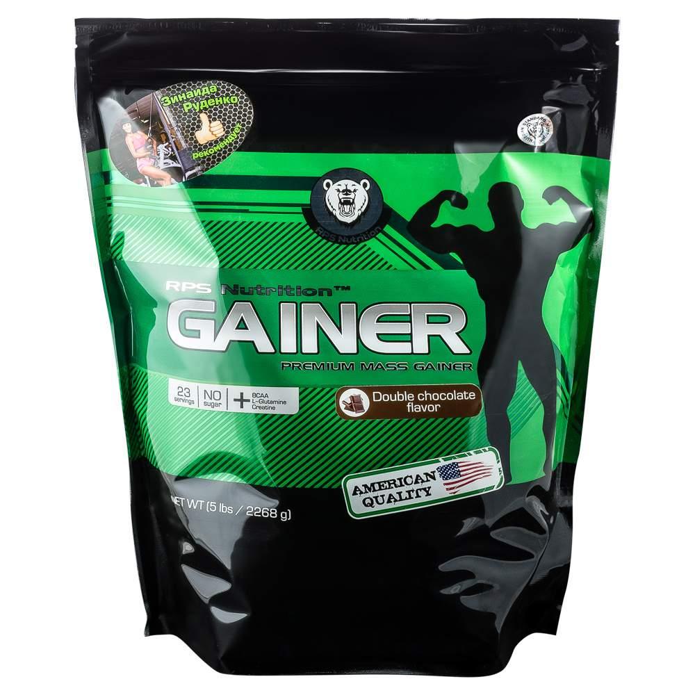 Гейнер RPS Nutrition Premium Mass Gainer 2270 г Double Chocolate купить, цены в Москве на goods.ru