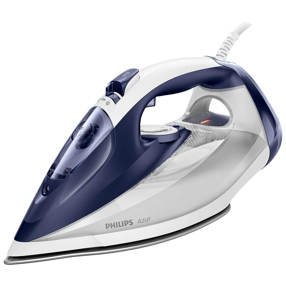 Утюг Philips Azur GC4541/20 White/Grey/Blue, купить в Москве, цены в интернет-магазинах на sbermegamarket.ru
