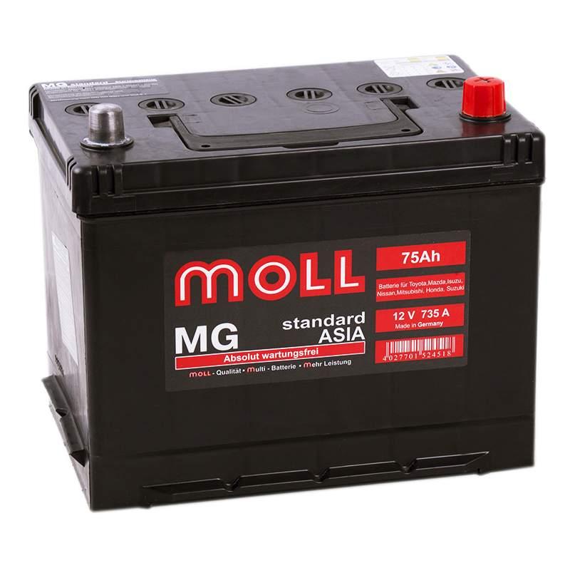 Аккумулятор MOLL MG 75JR 599