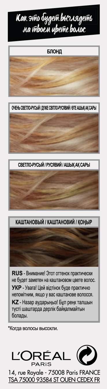 Миниатюра L'Oreal Colorista Hair Makeup №5