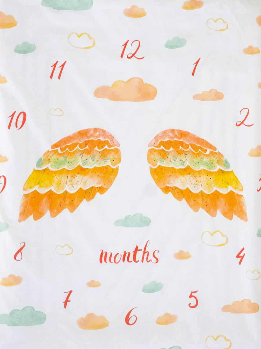 Постельное белье для новорожденных Облачко First year стерилизованное на резинке, 120х60