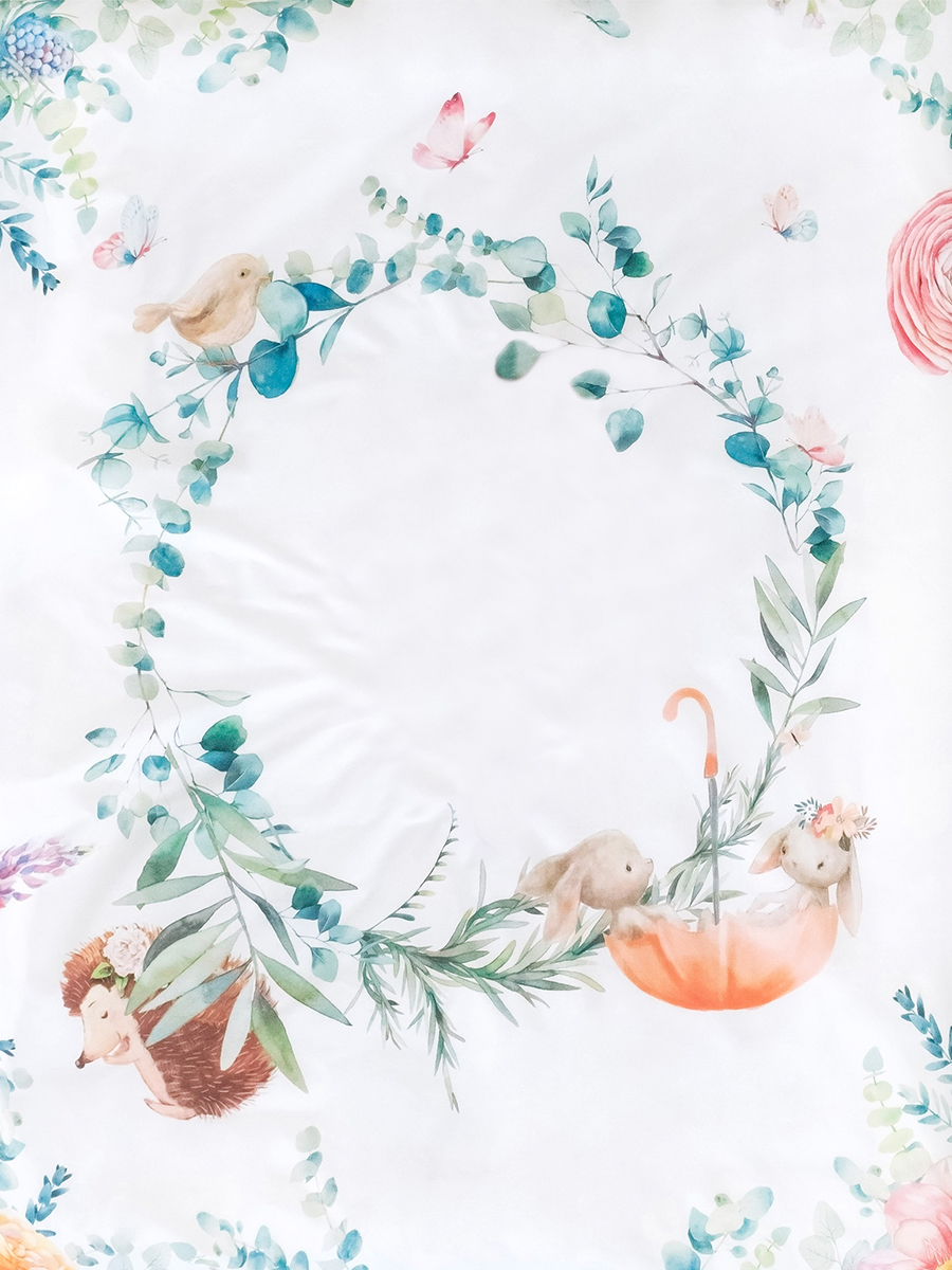 Постельное белье для новорожденных Облачко Fairytale стерилизованное на резинке, 120х60