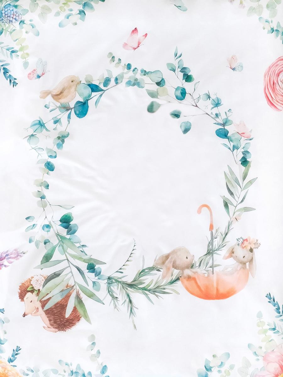 Комплект постельного белья на резинке Облачко Fairytale, 120х60
