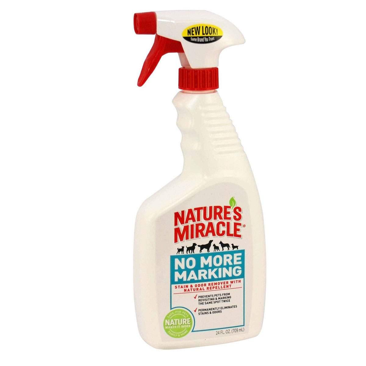 Фотография Уничтожитель запахов и пятен против повторных меток Nature's Miracle No More Marking 710мл №1