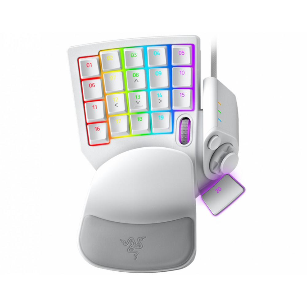 Игровая клавиатура Razer Tartarus Pro Mercury White White (RZ07-03110200-R3M1)