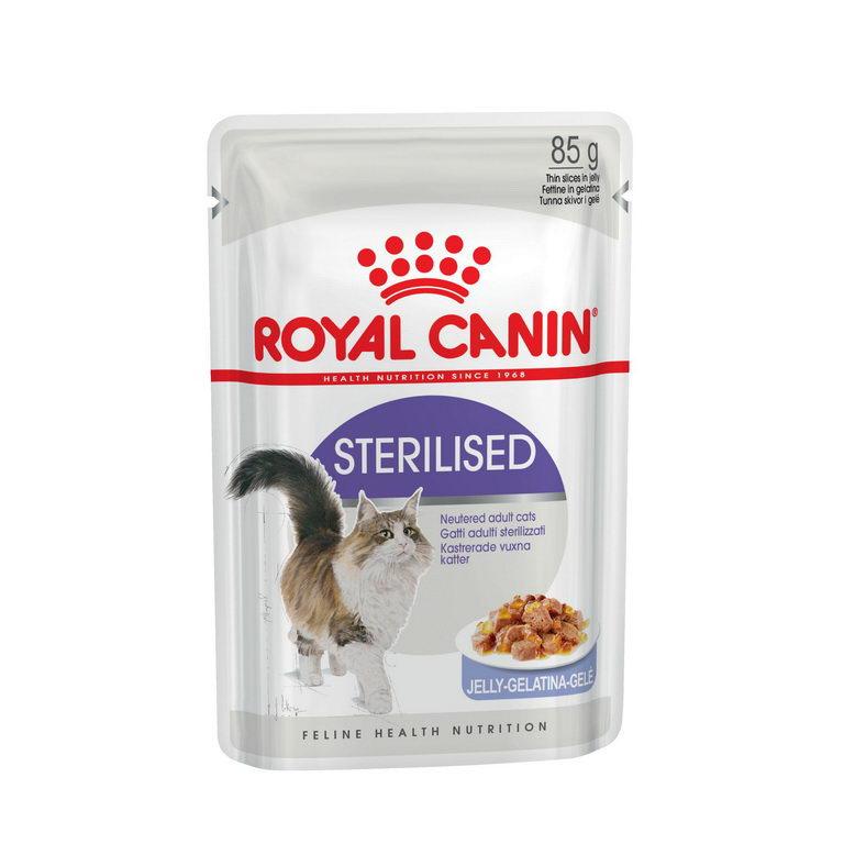Влажный корм для кошек ROYAL CANIN Sterilised, мясо, 85г