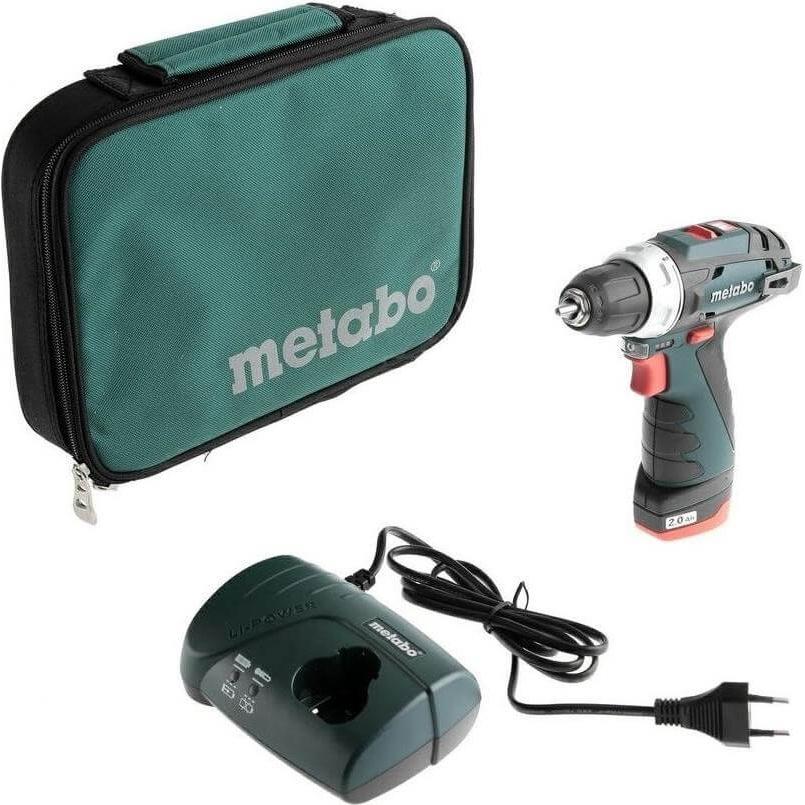 Аккумуляторная дрель-шуруповерт Metabo PowerMaxx BS 10,8 V 600079500