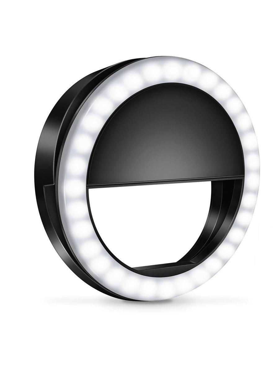 Кольцевая лампа Tiko, 8,5 см, Black (10403397)