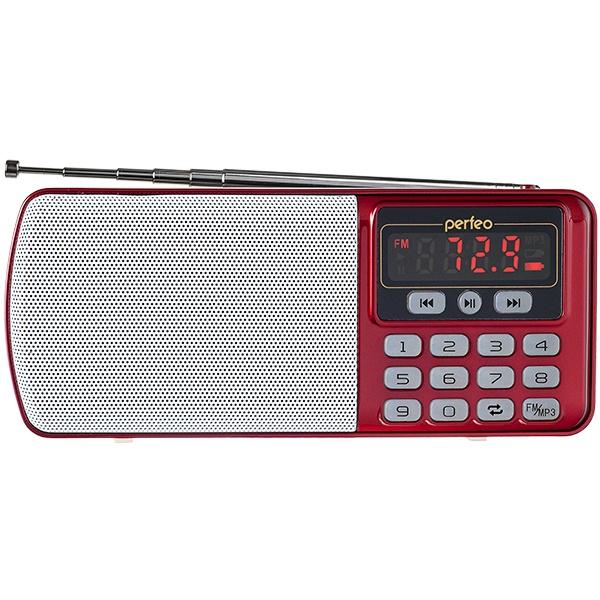 Радиоприемник Perfeo i120 Red