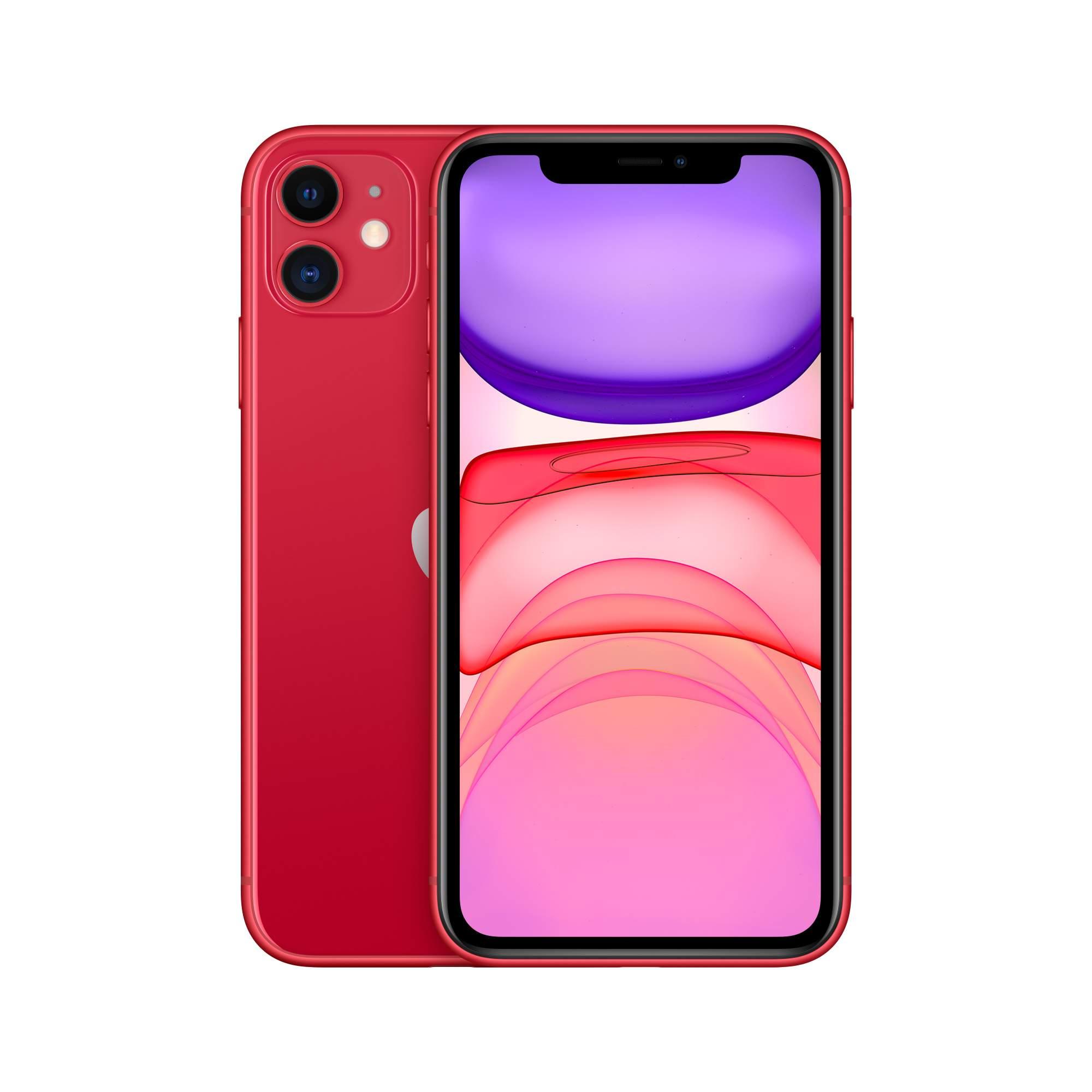 Смартфон Apple iPhone 11 64GB (PRODUCT)RED (MWLV2RU/A)