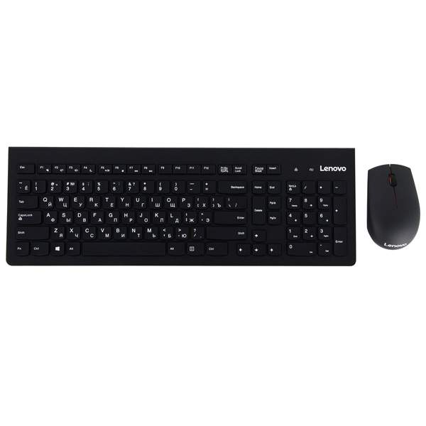 Комплект клавиатура+мышь Lenovo 500 Combo-RU (GX30N71807)